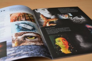 Photography feature in Rossall School's termly magazine: The Horizon