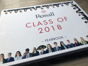 Rossall School's first in-house designed yearbook