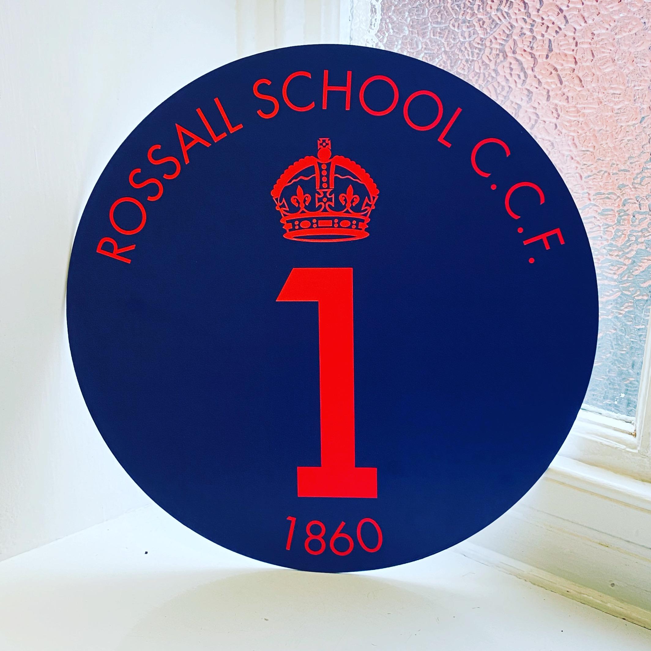 CCF Badge Sign